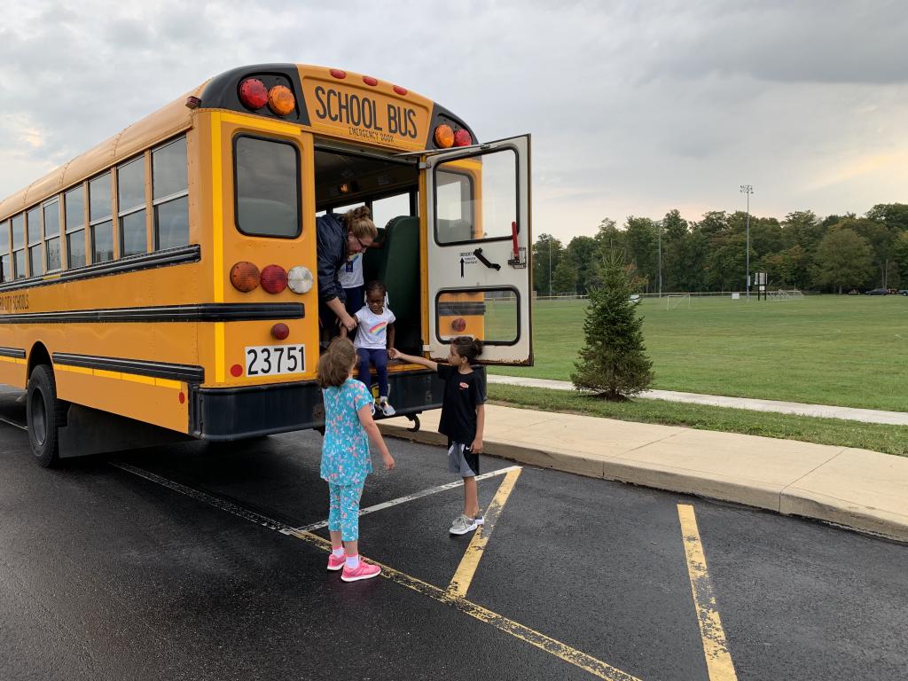 Bus evacuations at SCS