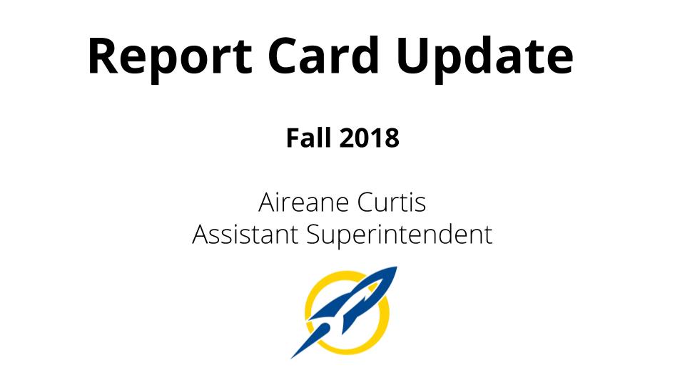 SCS | Streetsboro City Schools Report Card Update, Fall 2018