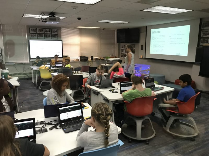 DEF | Defer Intermediate Students Learn in Kent State University's AT&T Classroom