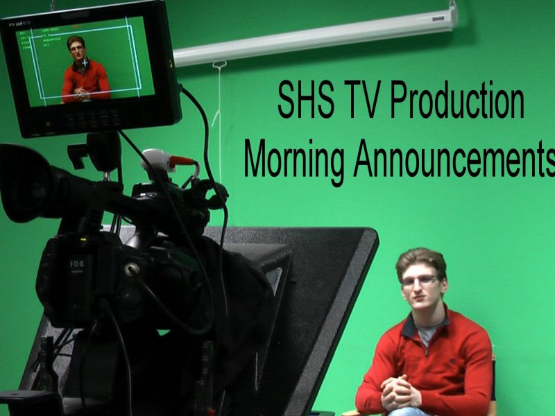 SHS | Morning Announcements 12/12/18