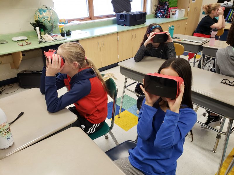 SCS | Streetsboro Educational Foundation Grant Funds VR Goggle Kit from Google