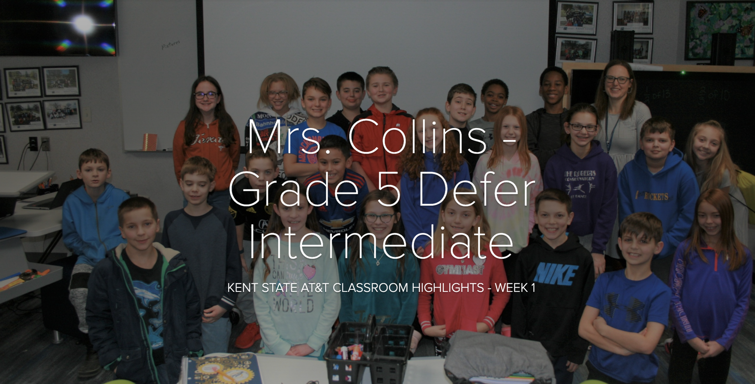 DEF | Mrs. Collins' Class Goes to Kent State University